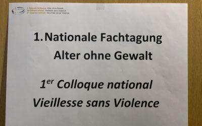 Nationales Treffen zum Thema Gewalt an Älteren  – Bildergalerie